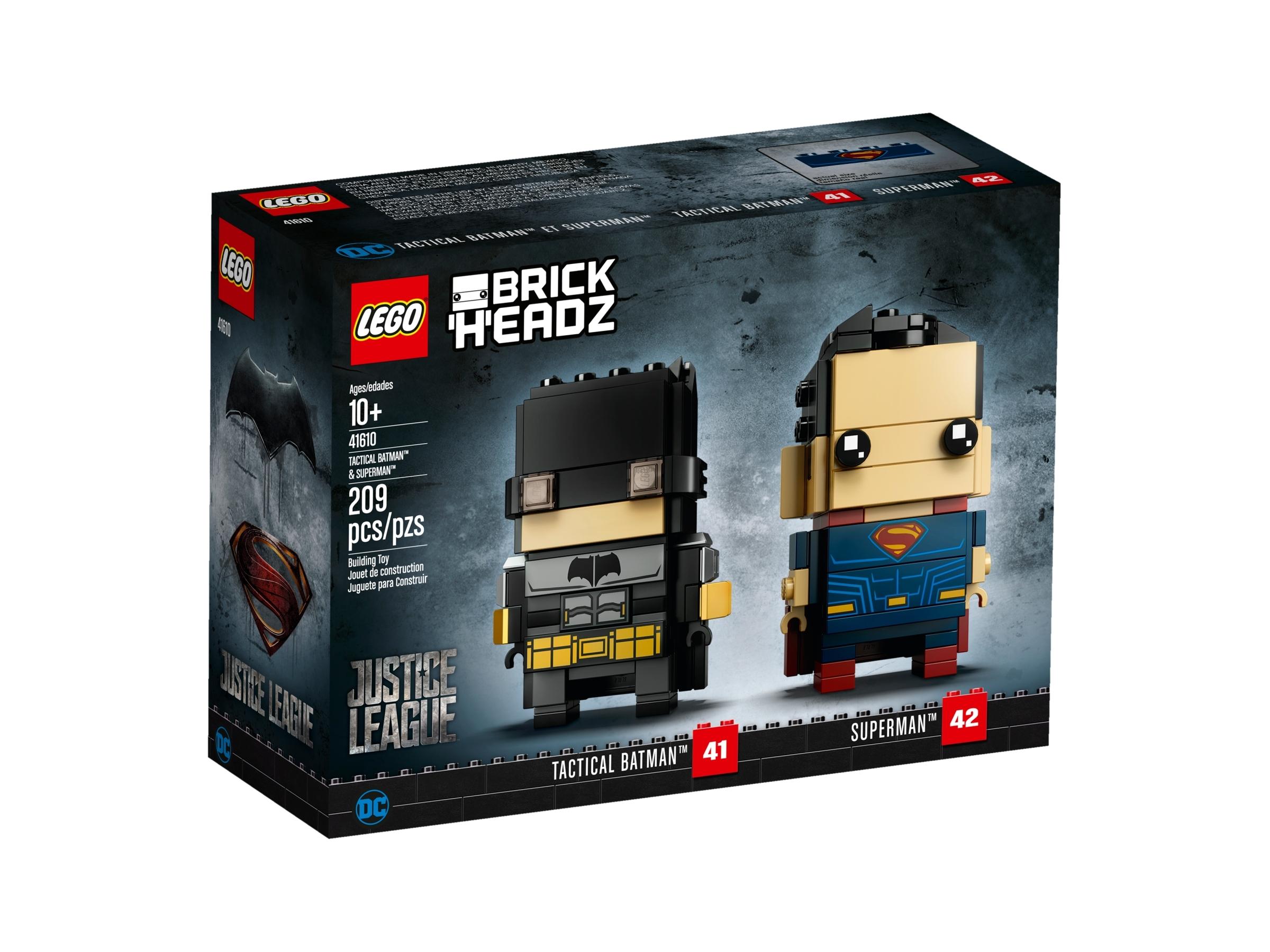 LEGO DC Justice League Brickheadz Choose a Set NEW Batman Superman
