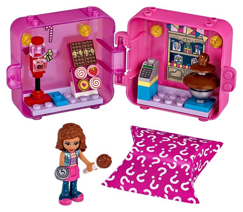 Olivia's Shopping Play Cube