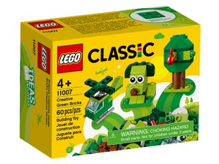 Creative Green Bricks