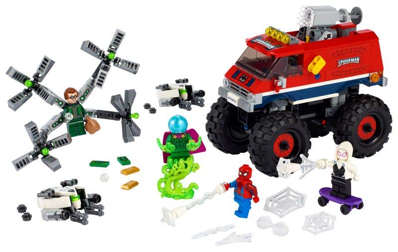 Spider Mans Monster Truck Vs. Mysterio