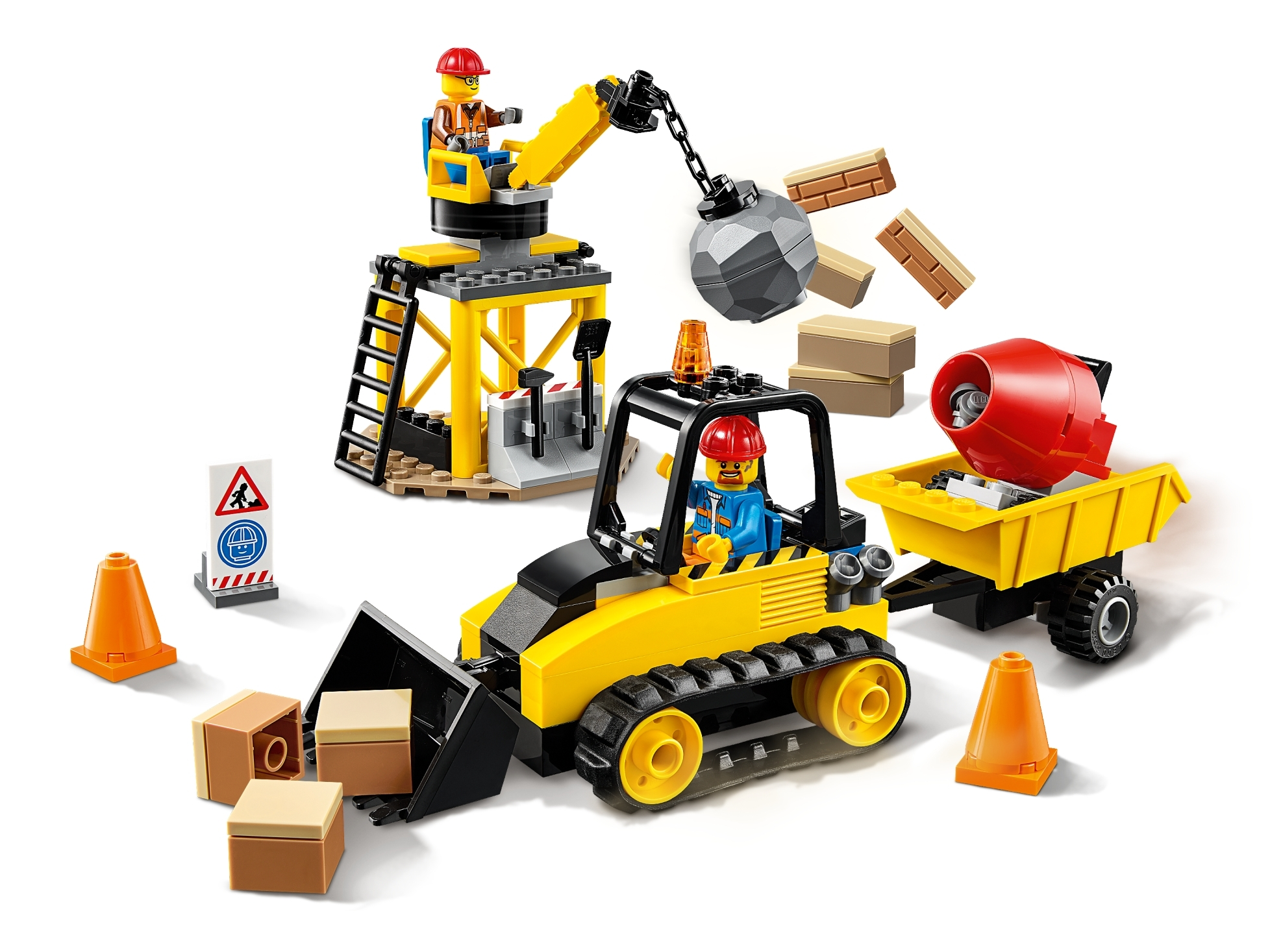 60252 City Lego Construction Bulldozer Toy Building Set for Kids New Boxed