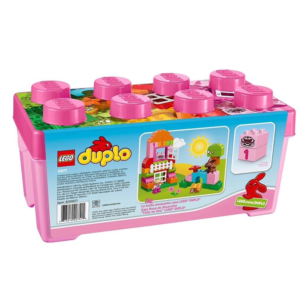 LEGO DUPLO All-in-One-Pink-Box-of-Fun 10571 6059071