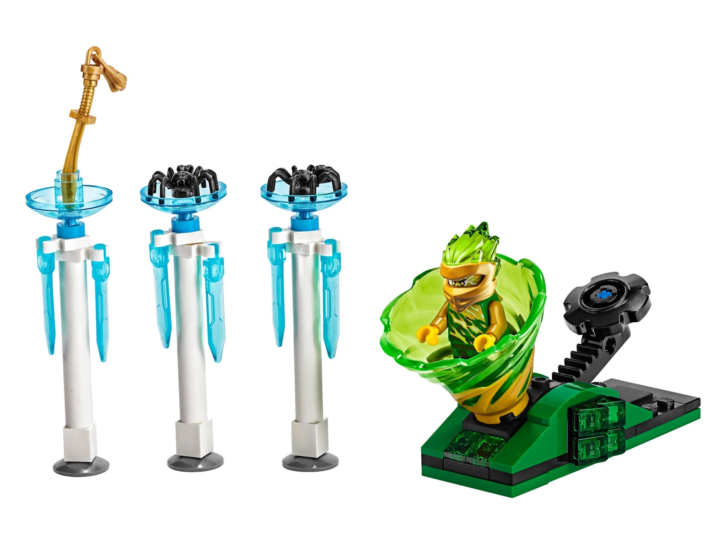 LEGO Ninjago Lloyd Mini figure Green Ninja Forbidden Spinjitzu 70676