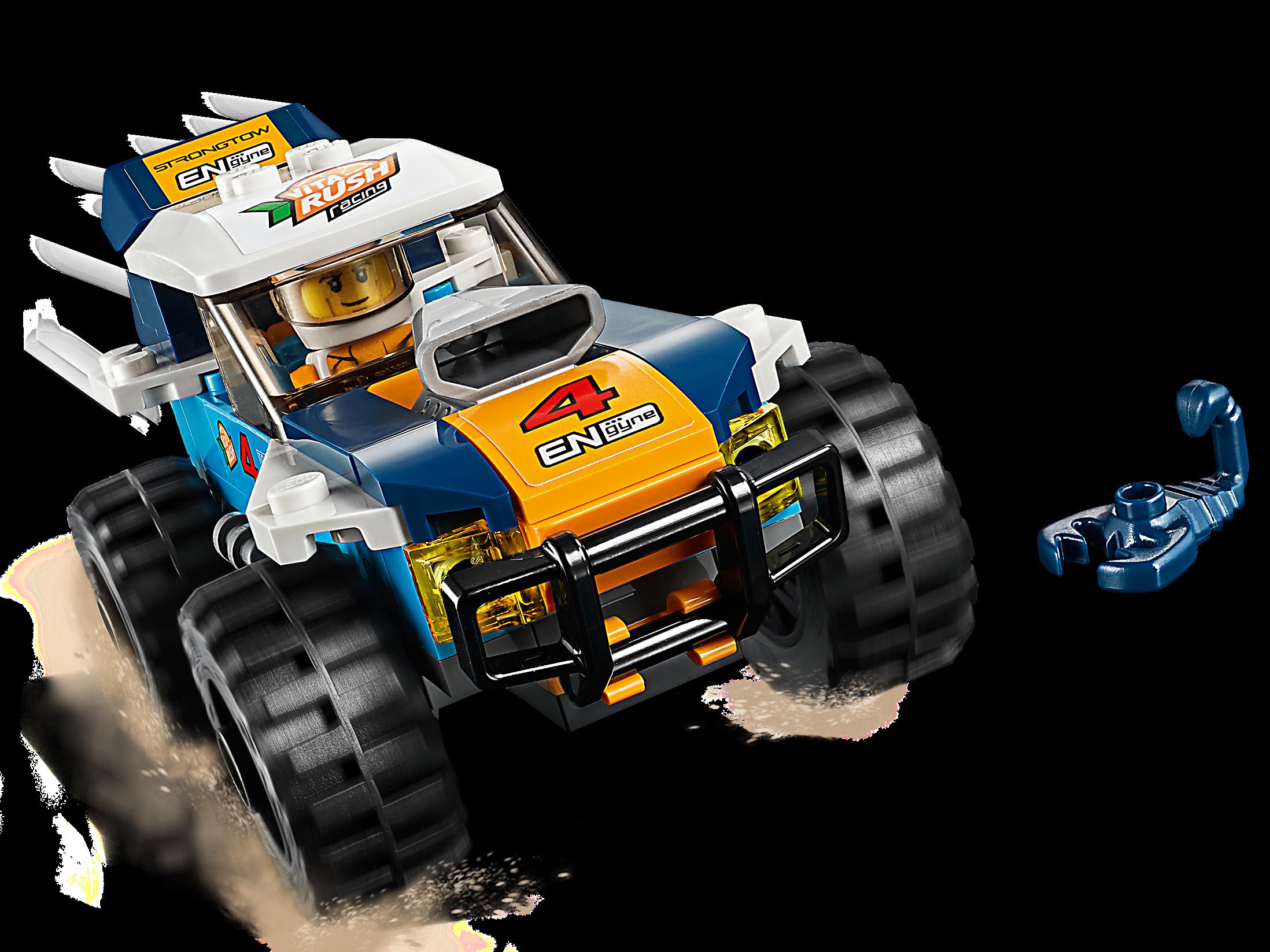 60218 LEGO CITY DESERT RALLY Racer 75 PEZZI età 5 NUOVO rilascio per 2019!