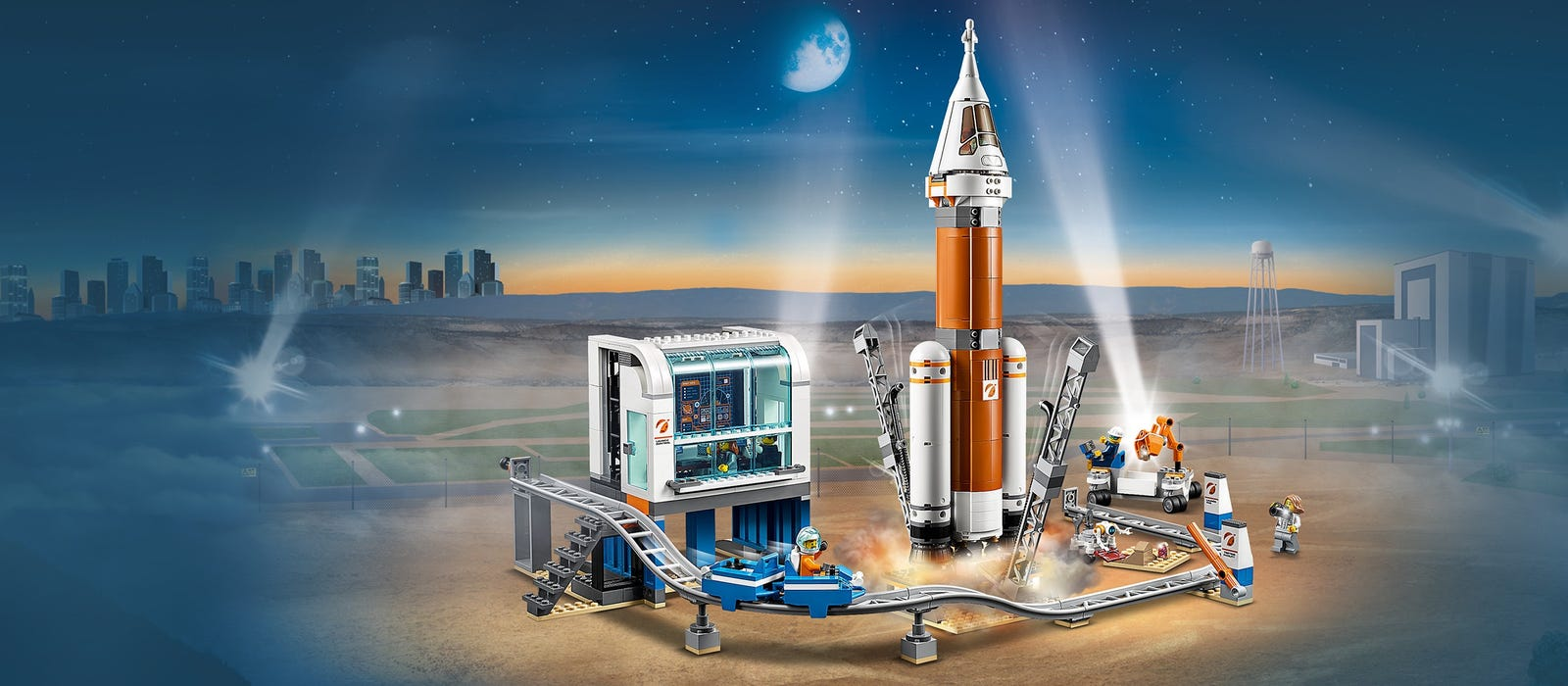 City Product Deep Space Rocket and Launch Control 60228