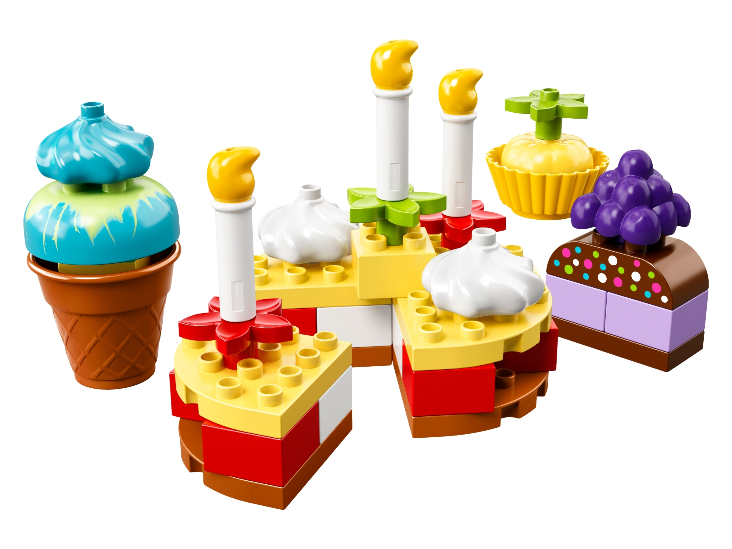 NEW Lego Duplo 10862 My First Celebration Build Colourful Cakes