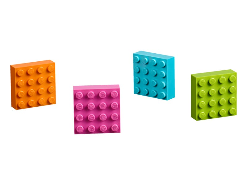 LEGO 4x4 Brick Magnets