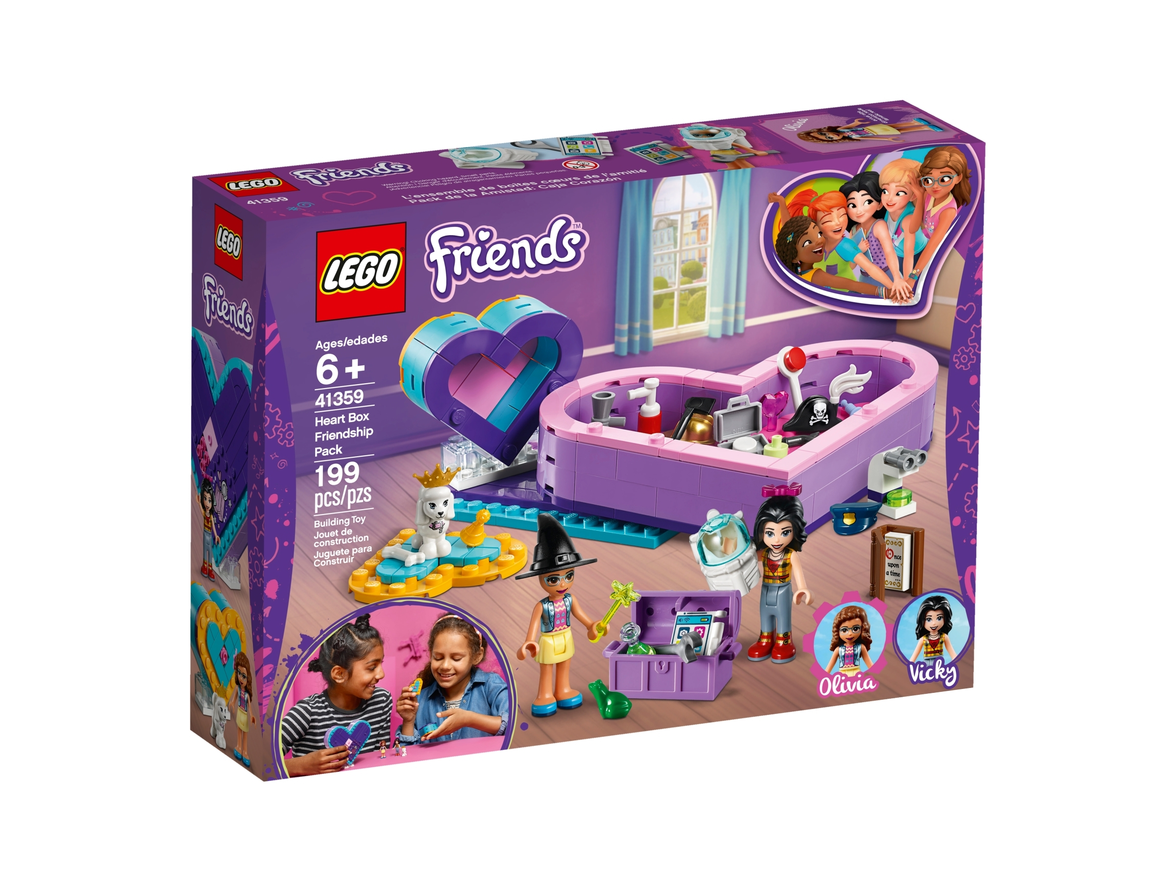 Heart Box Friendship Pack 41359 Friends Buy Online At The Official Lego Shop Us