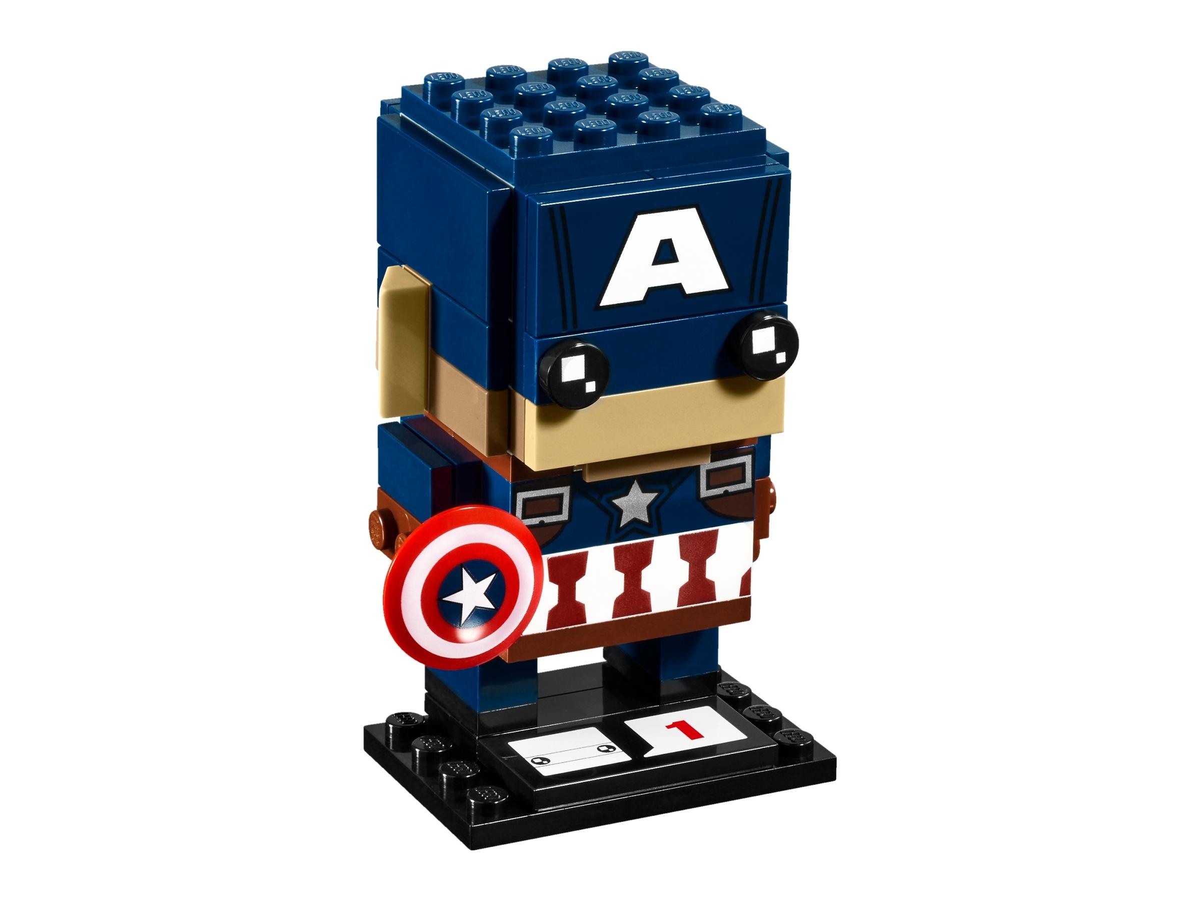 Captain America 41589 Brickheadz Buy Online At The Official Lego Shop Us