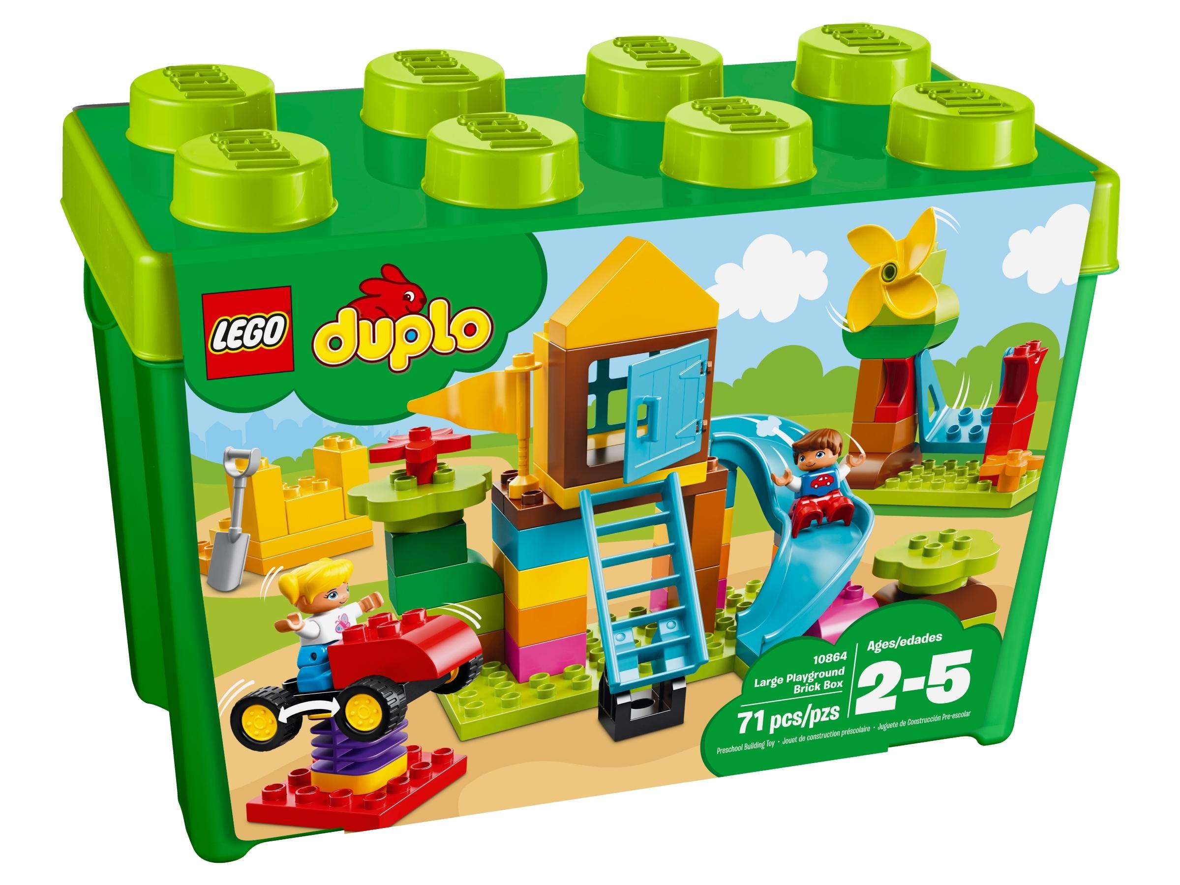 Large Playground Brick Box 10864   DUPLO®   Buy online at the ...