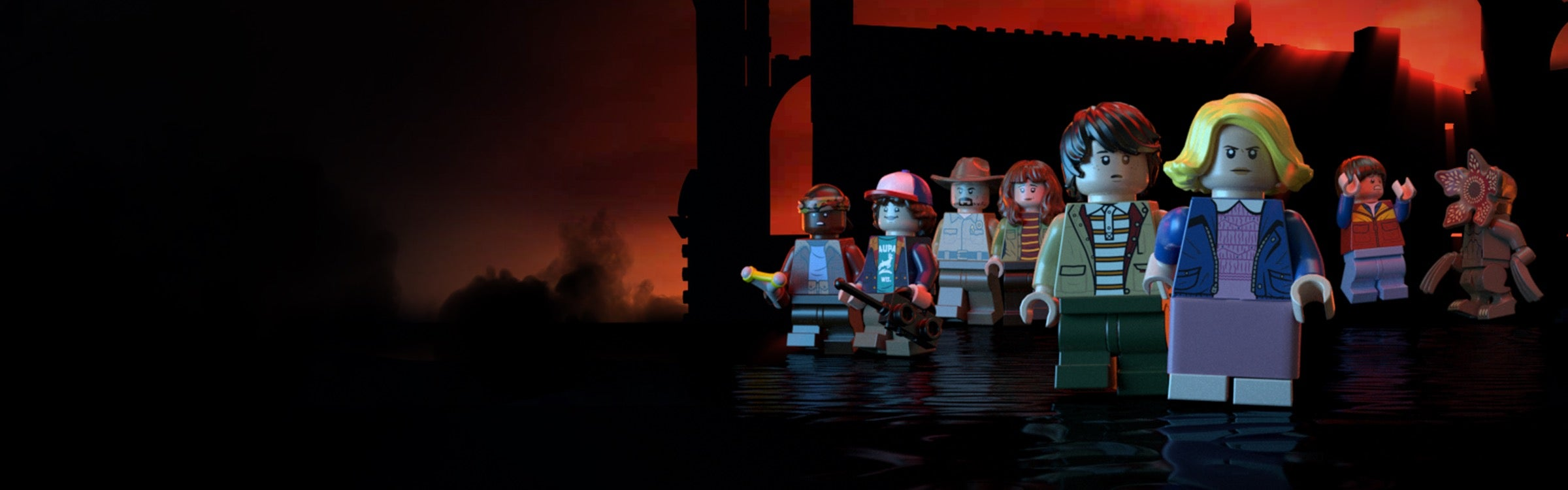 Custom LEGO Stranger Things Minifigure Lucas Sinclair