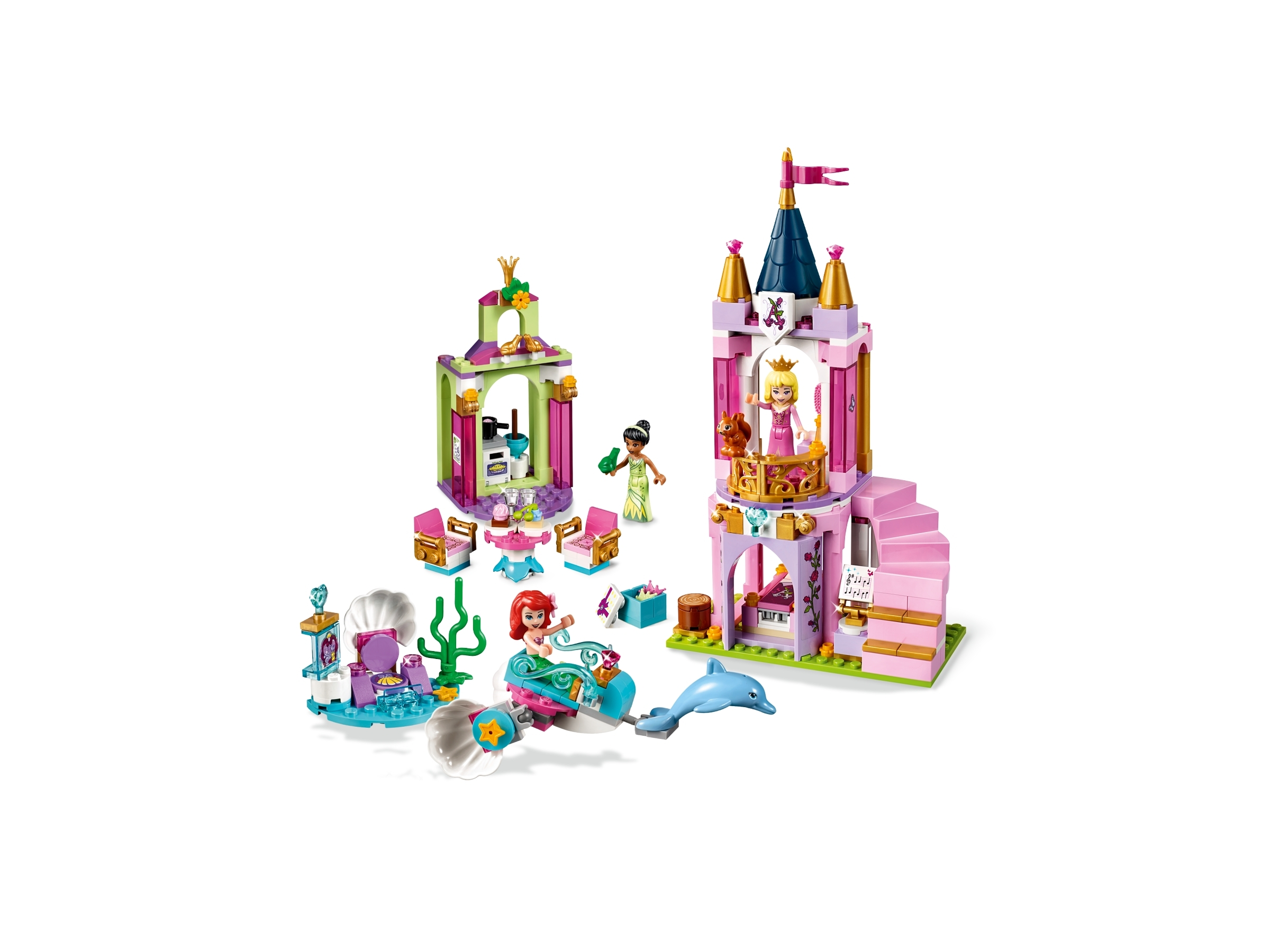 lego disney aurora ariel and tianas royal celebration  41162 eldo