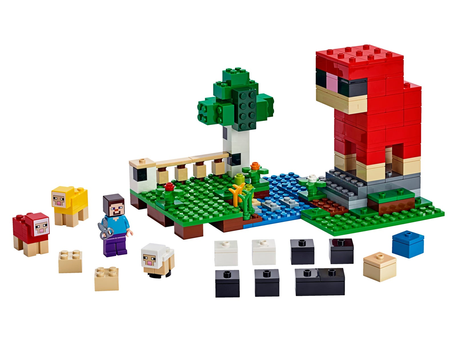 The Wool Farm 21153 | Minecraft™ | Buy online at the Official LEGO ...