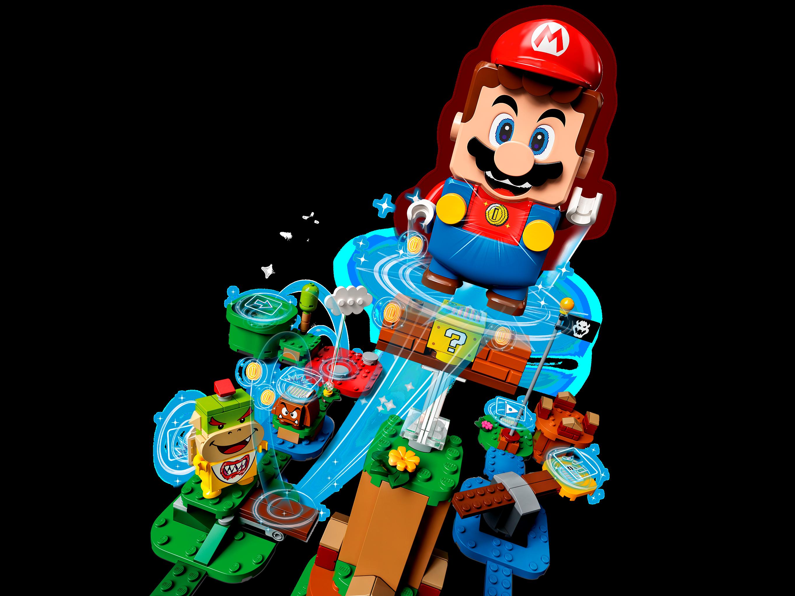 LEGO Super Mario Starter Pack Costruibile per il Percorso di base Avventure con Super Mario, Giocattolo e Idea Regalo per Bambini (231 pezzi), Modello