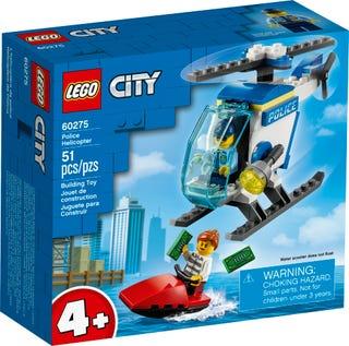 L'hélicoptère de la police