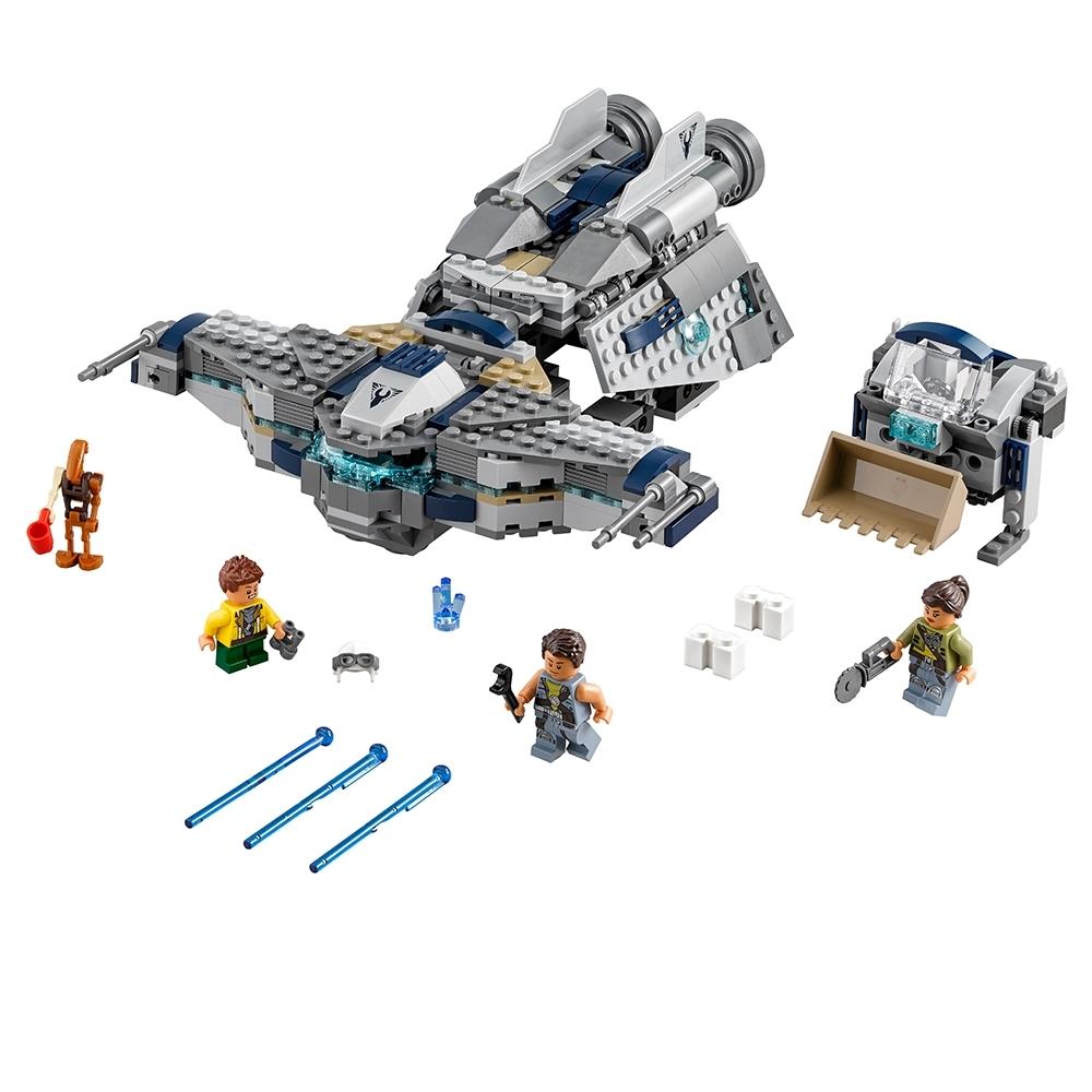 LEGO Star Wars Freemaker Adventures Kordi minifigure from set 75147