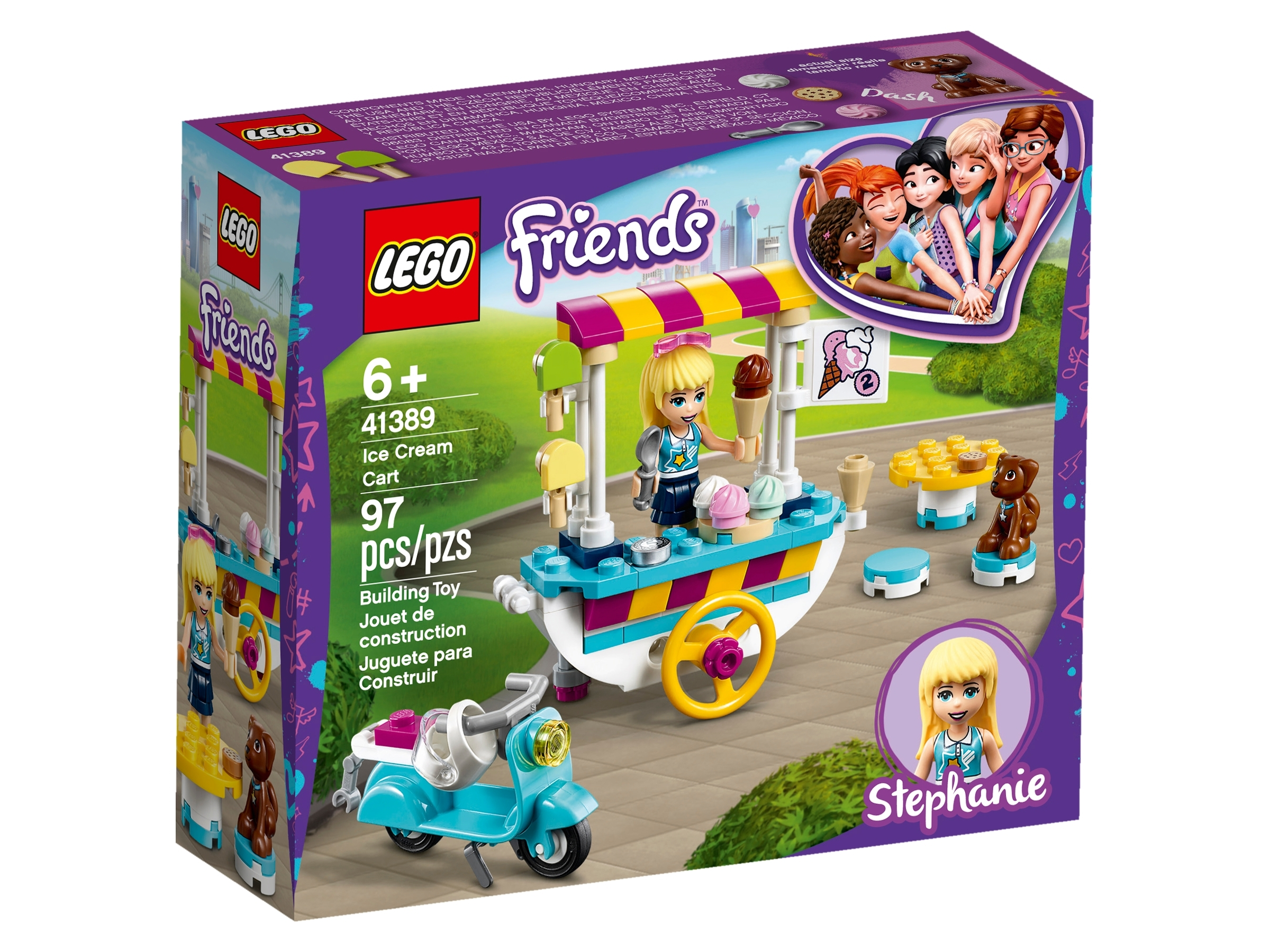 *NEW* 2 Sets LEGO Minifig Food ICE CREAM CART POPSICLE
