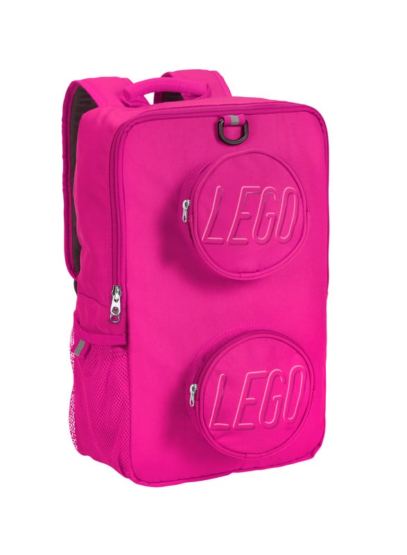 LEGO® Brick Backpack Pink