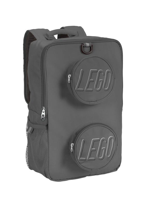 LEGO® Brick Backpack Gray
