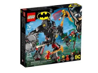 Le robot Batman™ contre le robot Poison Ivy™