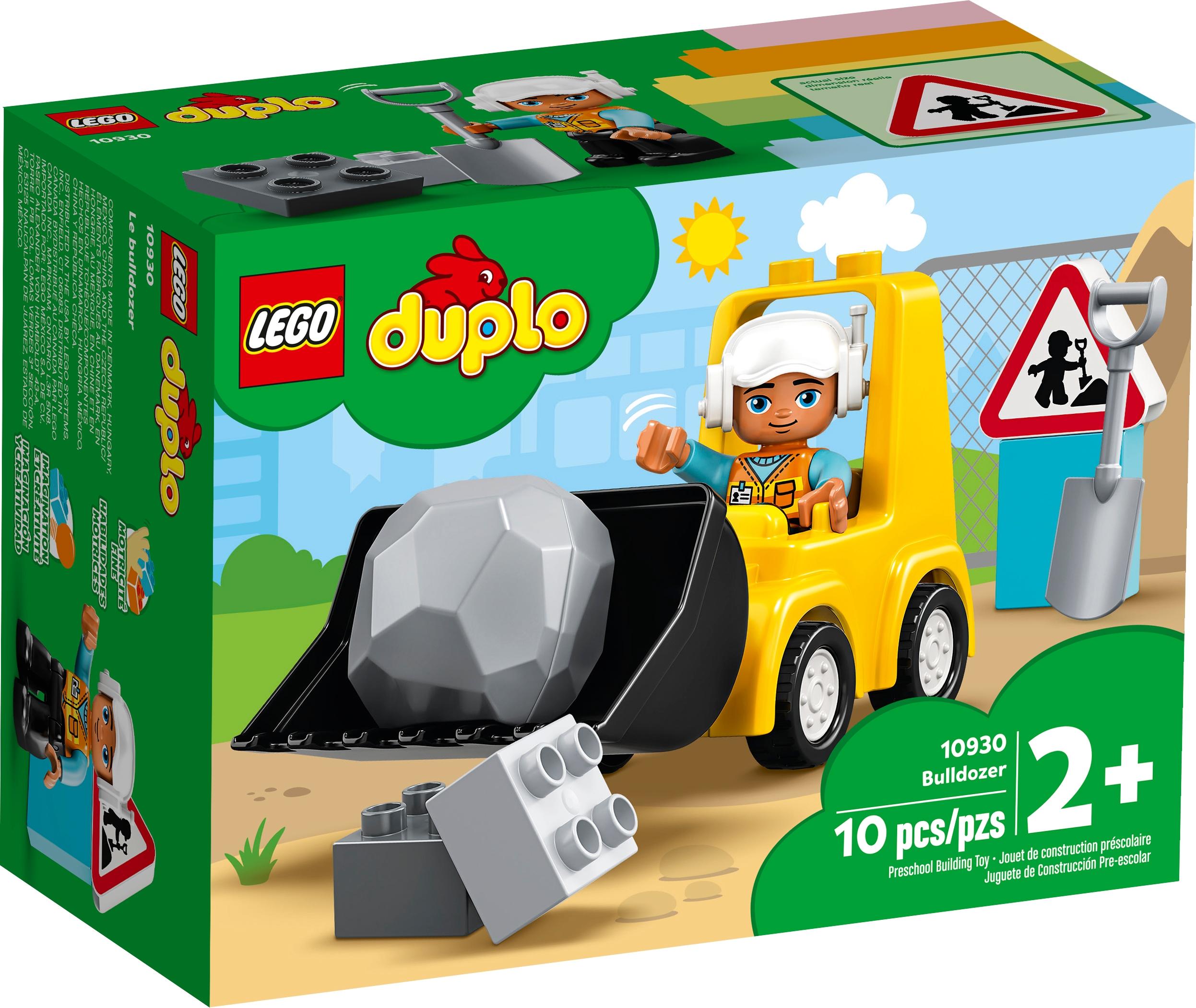 LEGO DUPLO 10930 Bulldozer ~ NEW ~