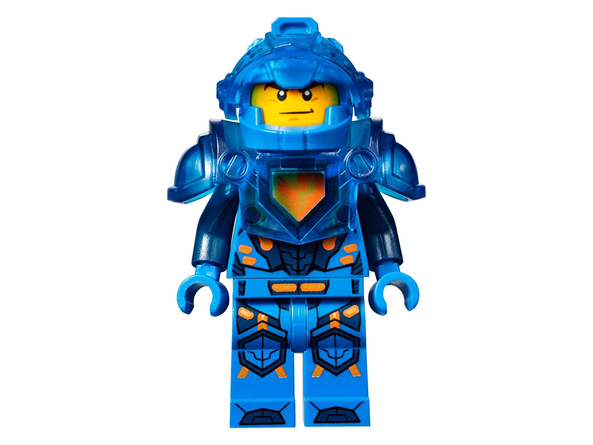 NEW LEGO ® 100/% Official Nexo Power Shield BLUE CLAY Ice Cream #047