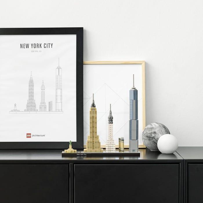 The LEGO® New York City skyline