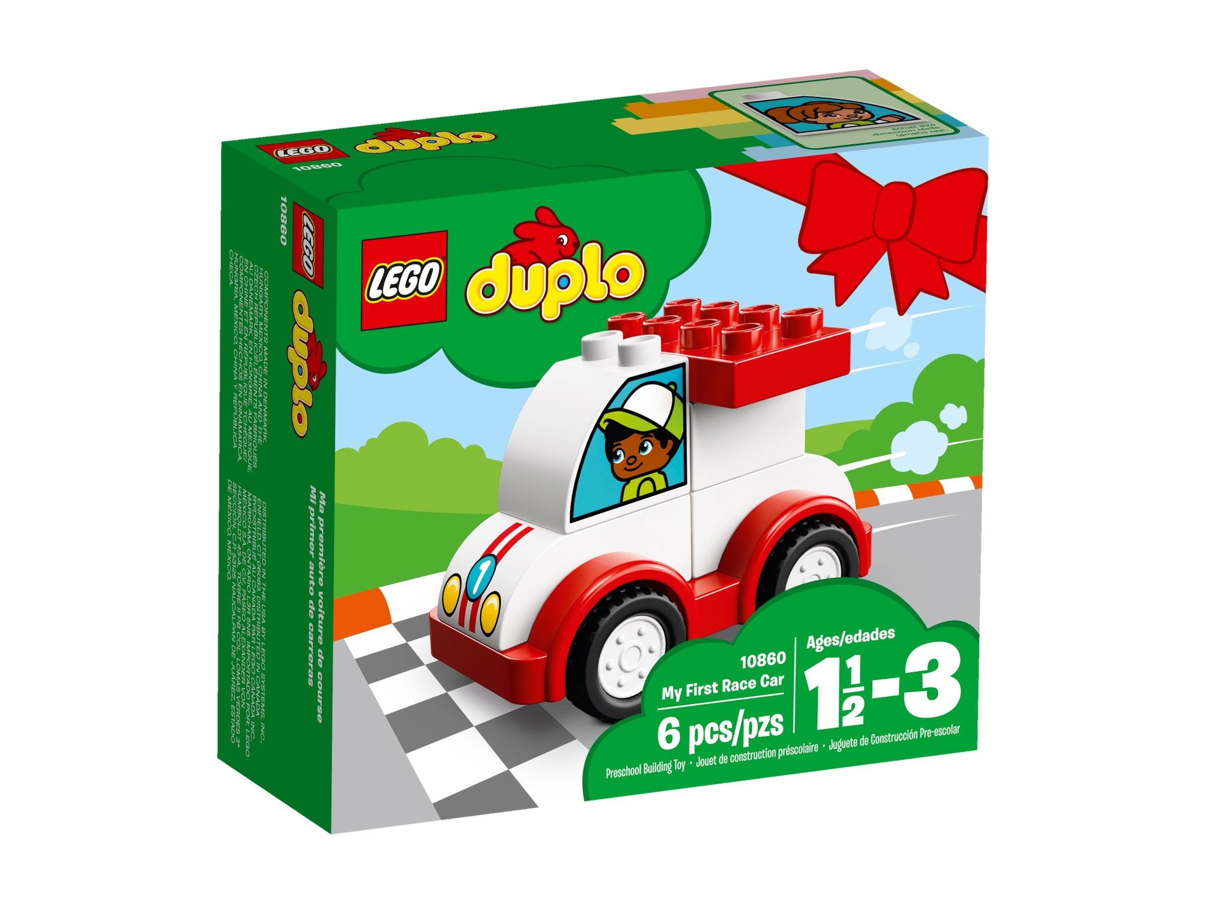 *NEW* LEGO DUPLO Race Car Figure Man Boy Driver Racer Cars Track Airport Train