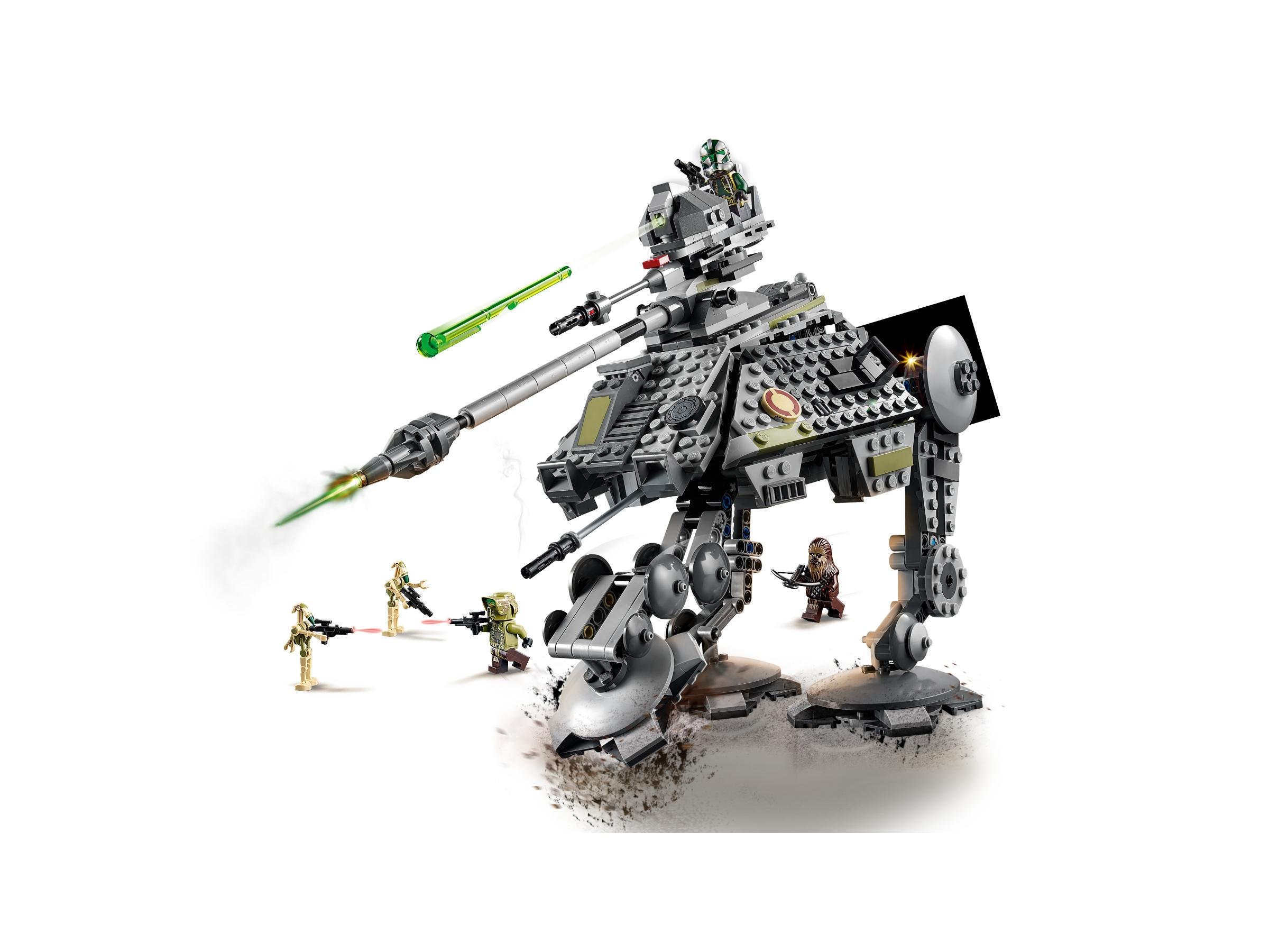 LEGO Star Wars Commander Gree Minifigure Blasters 75043 75234 Keychain Clone