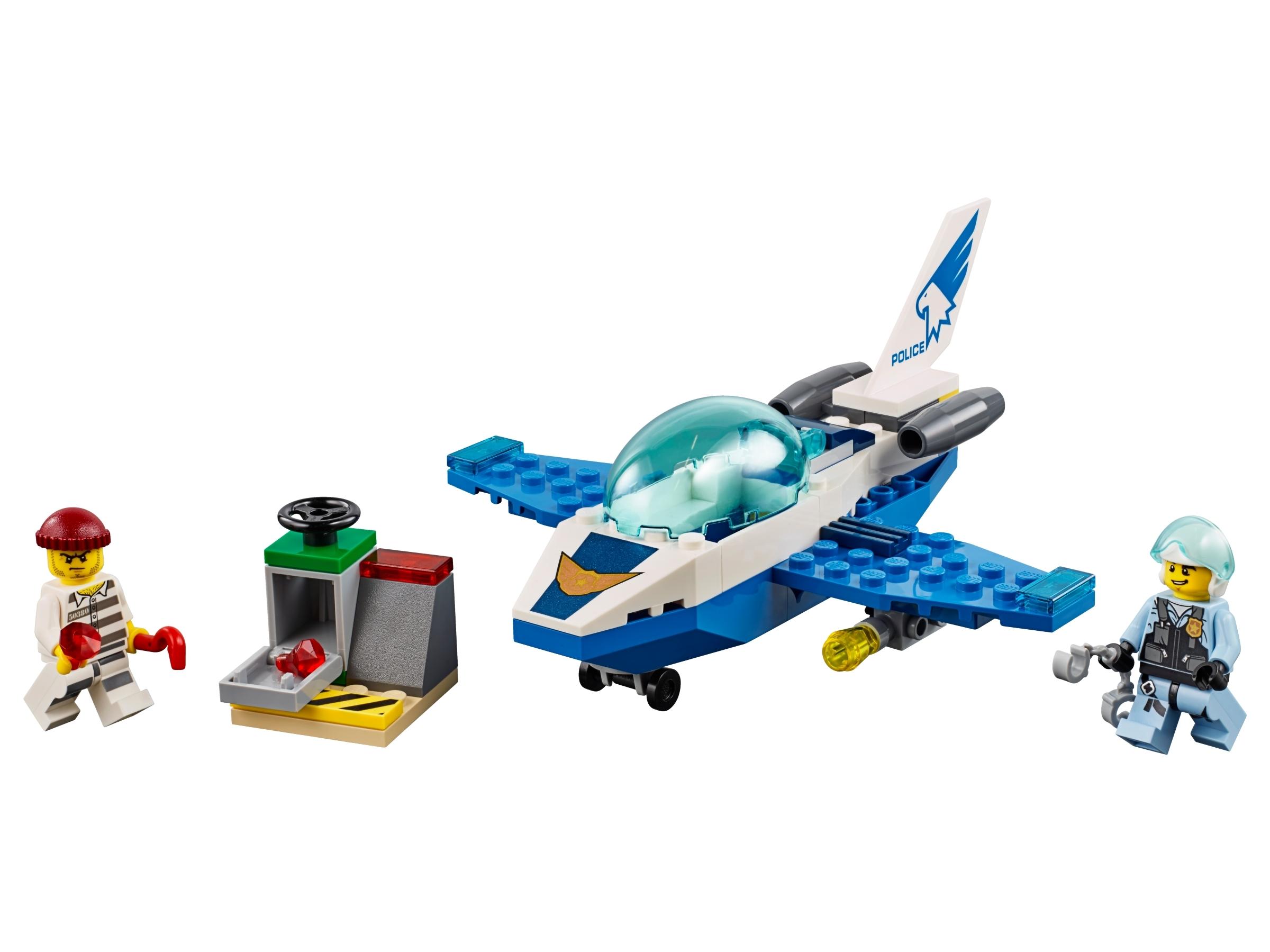 LEGO® City 60206 Polizei Flugzeugpatrouille