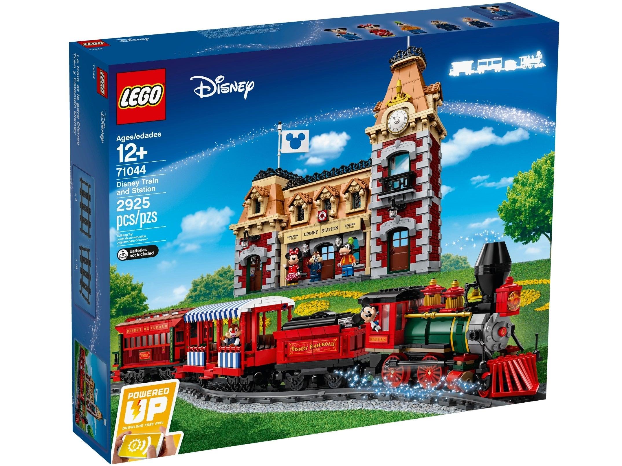 LEGO City Passenger Train LUXURY Locomotive Double Power Up Train Motor In 71044