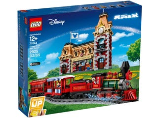 Vlak a nádraží Disney