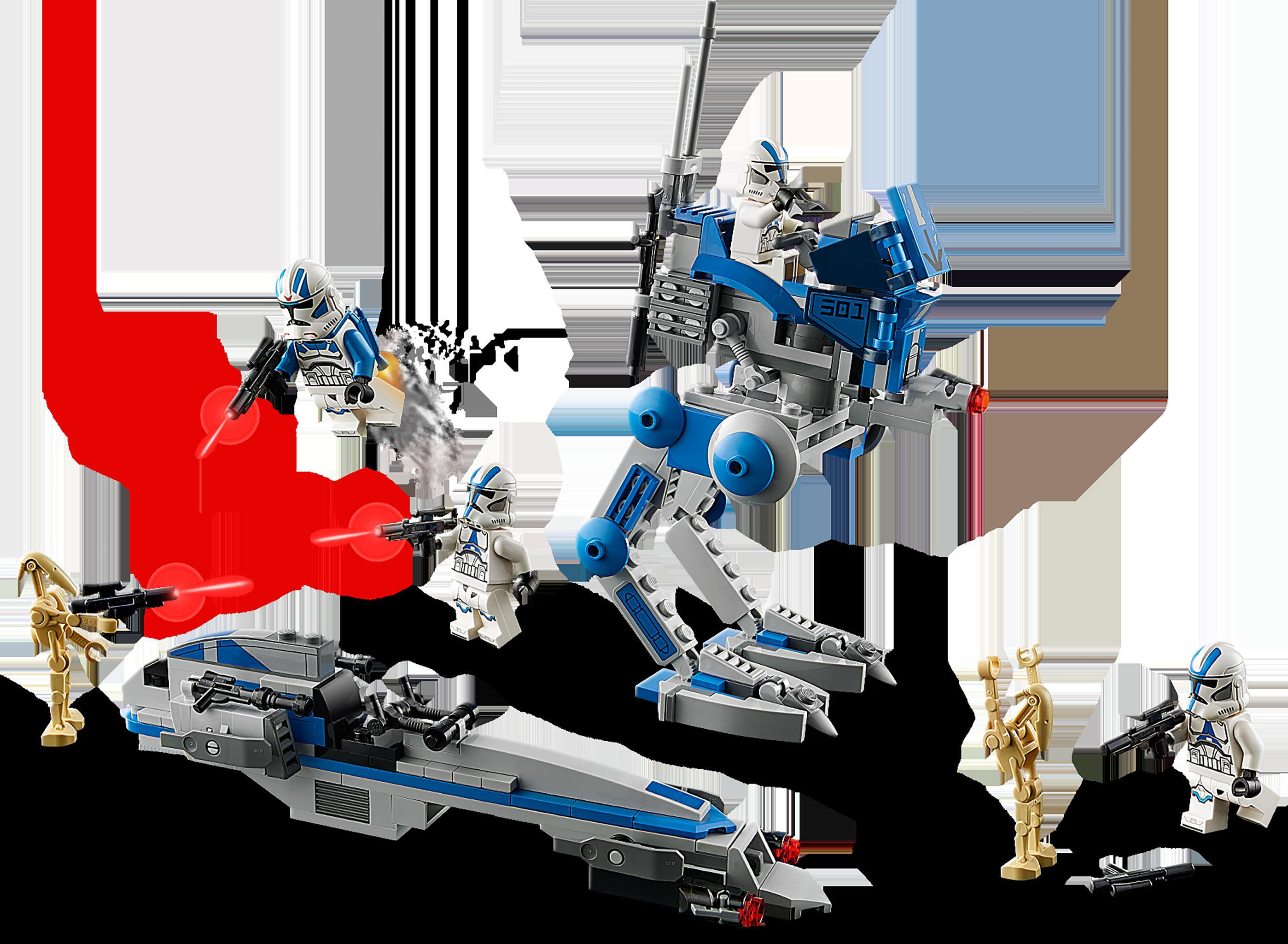 with Blaster sw1093 LEGO Star Wars™ 501st Legion Jet Trooper from 75280
