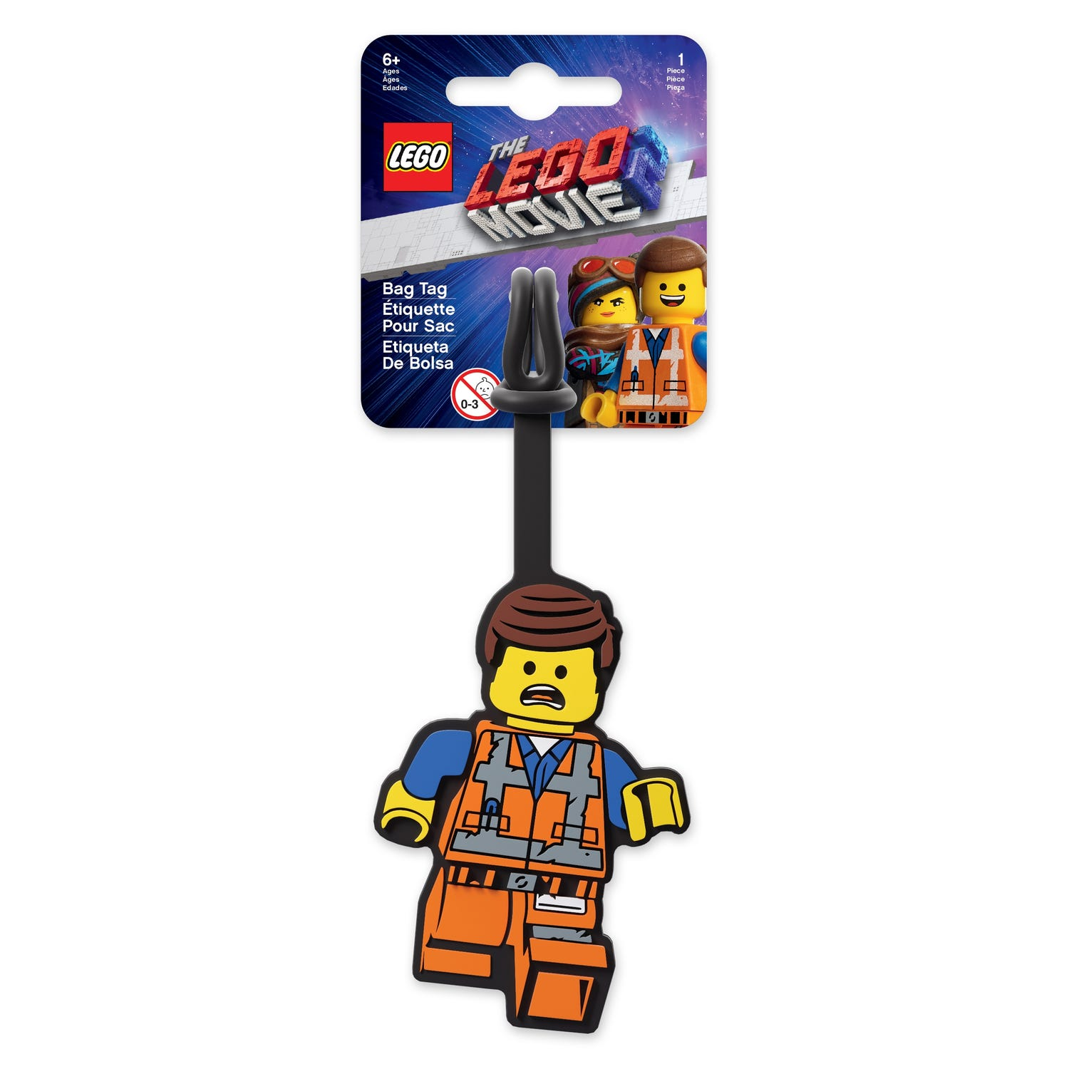 THE LEGO® MOVIE 2™ Emmet-Gepäckanhänger