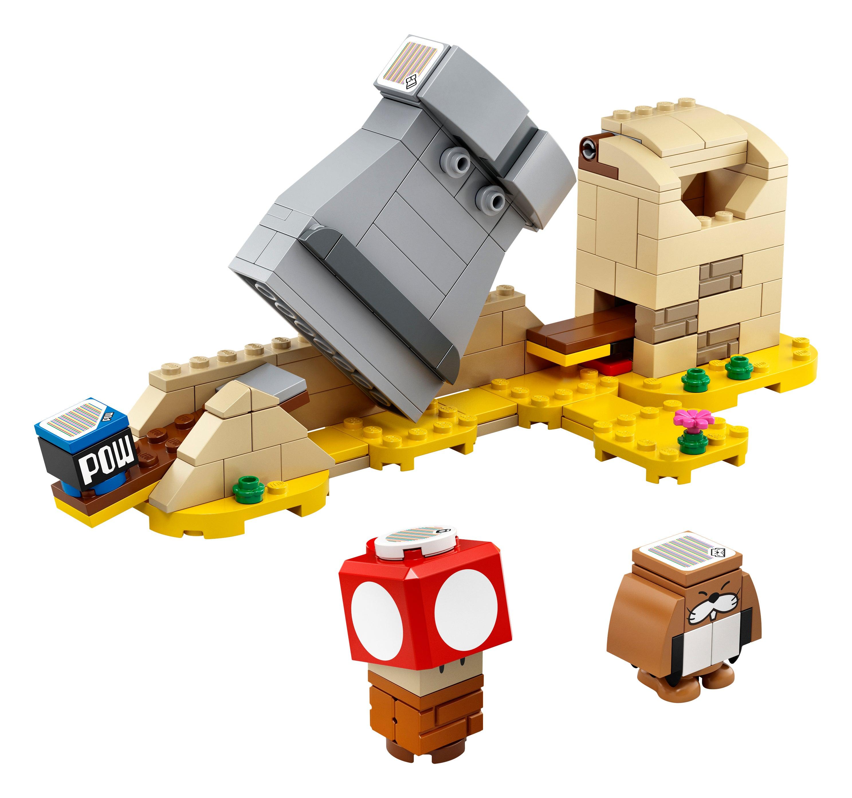 Brand New Sealed NIB LEGO Monty Mole /& Super Mushroom.