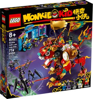 Monkie Kid's Lion Guardian