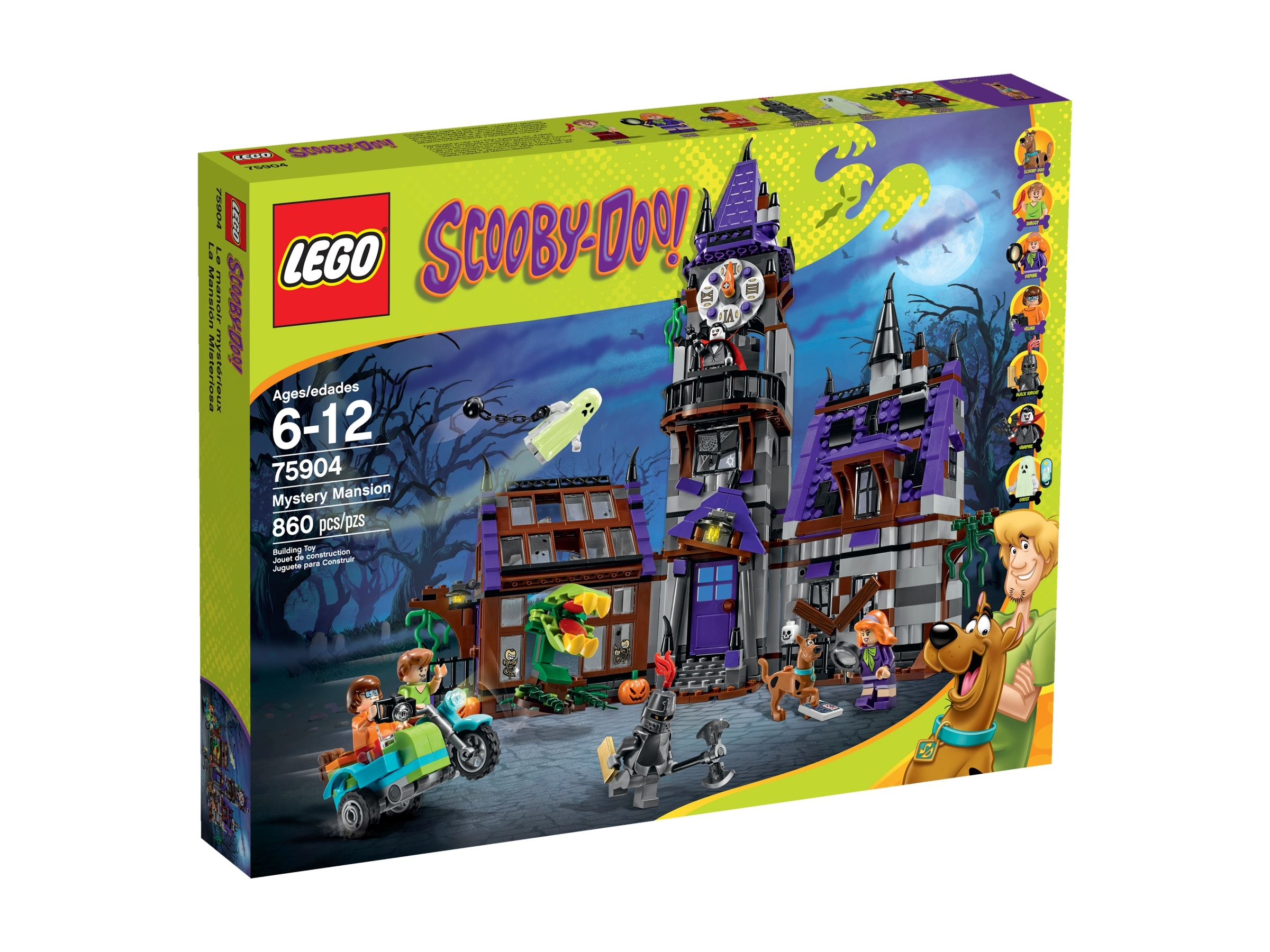 STICKERS Lego Scooby Doo 75904 Mystery Mansion Stickers Only NEW Original