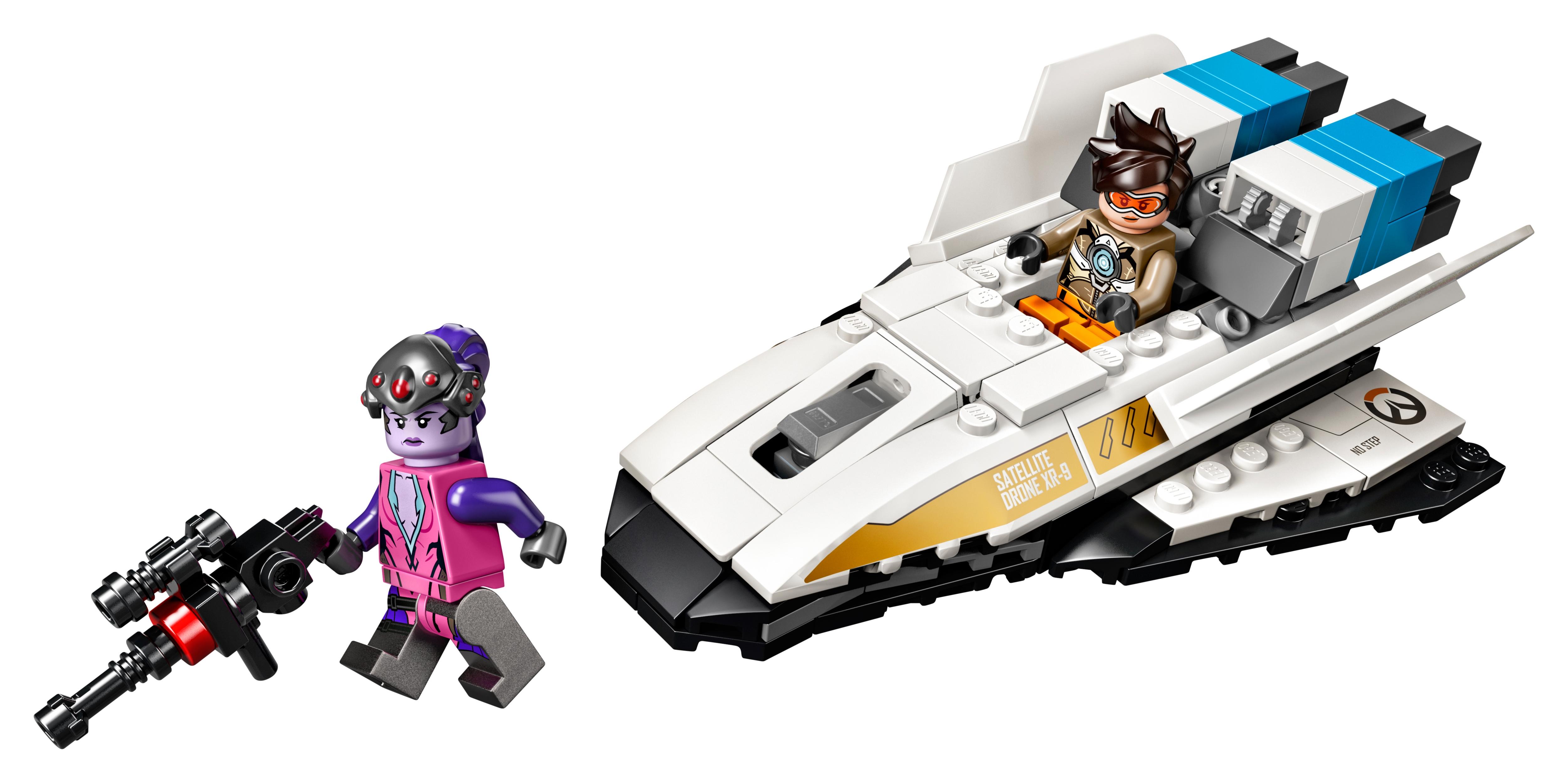 LEGO® Overwatch Widowmaker 75970 Tracer vs
