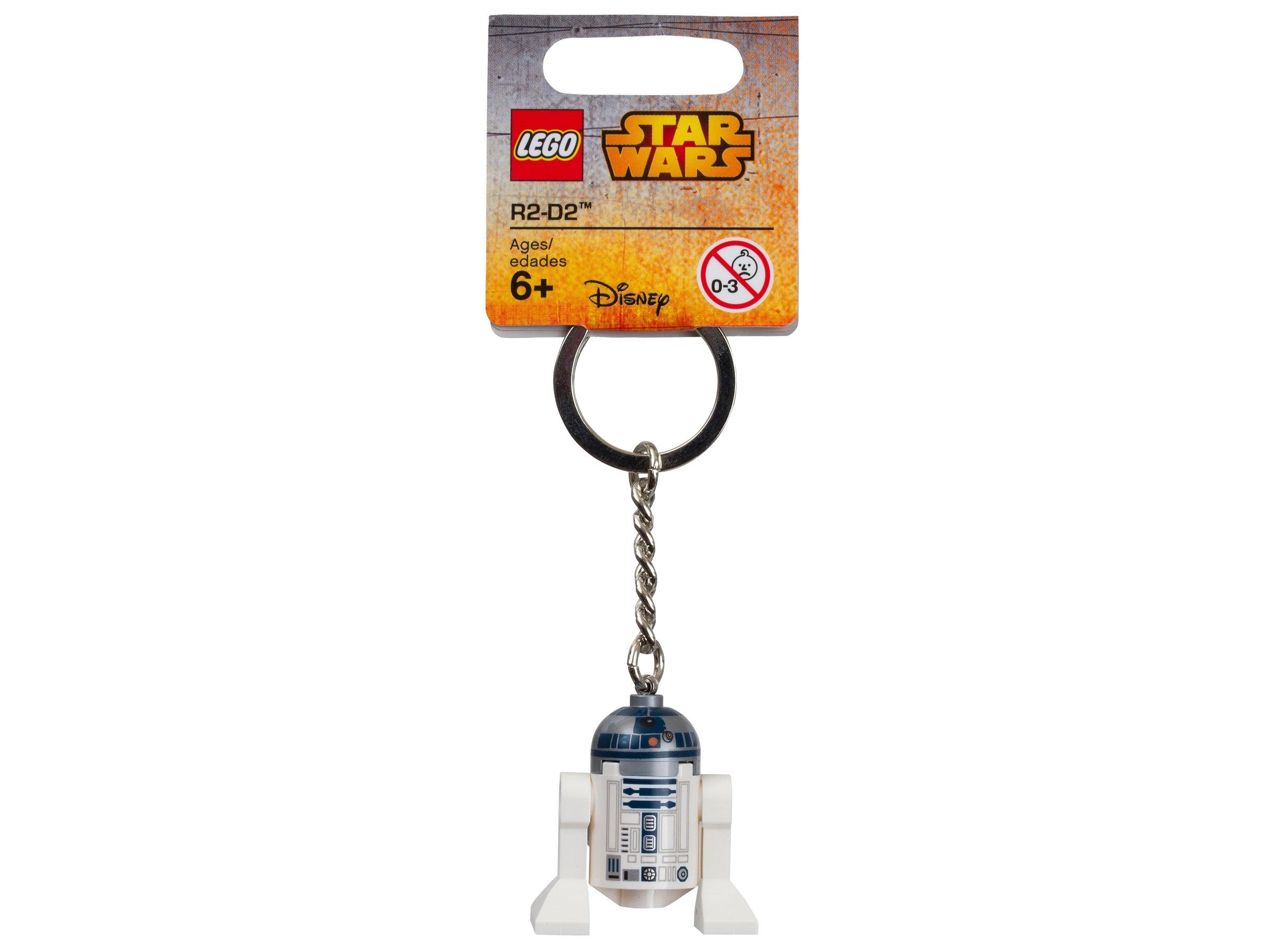 Lego Star Wars R2-D2 Key Ring// Key Chain BRAND NEW
