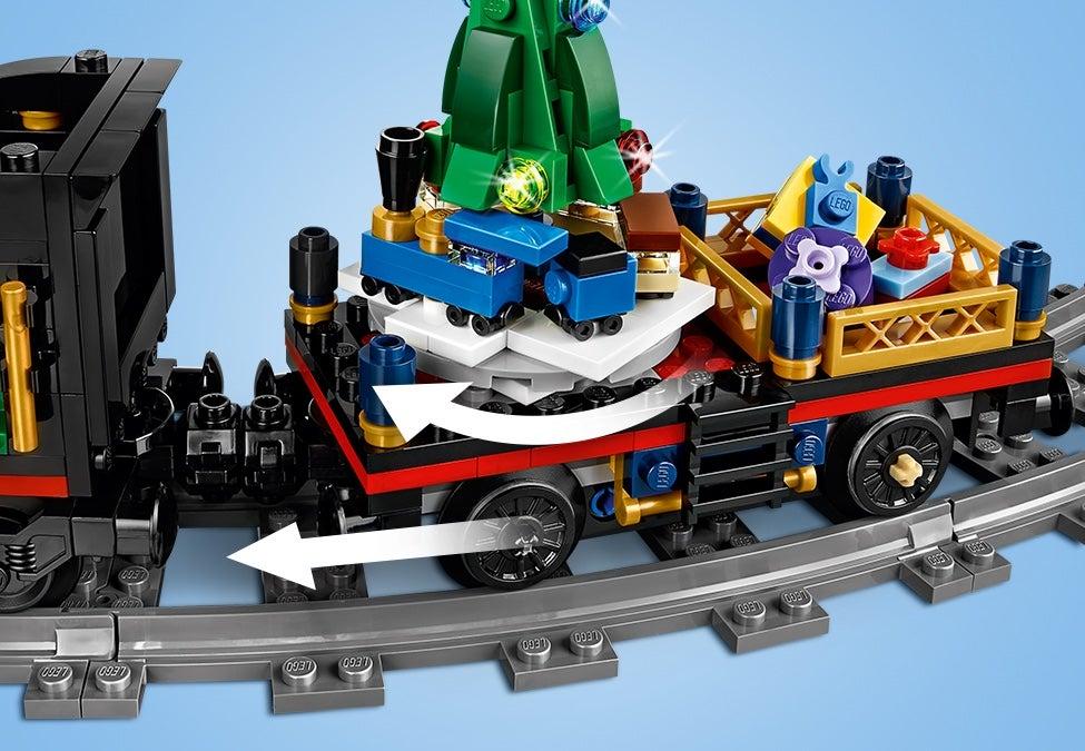 LEGO Creator WINTER HOLIDAY TRAIN # 10254  734 pcs 5 minifigures Christmas SET