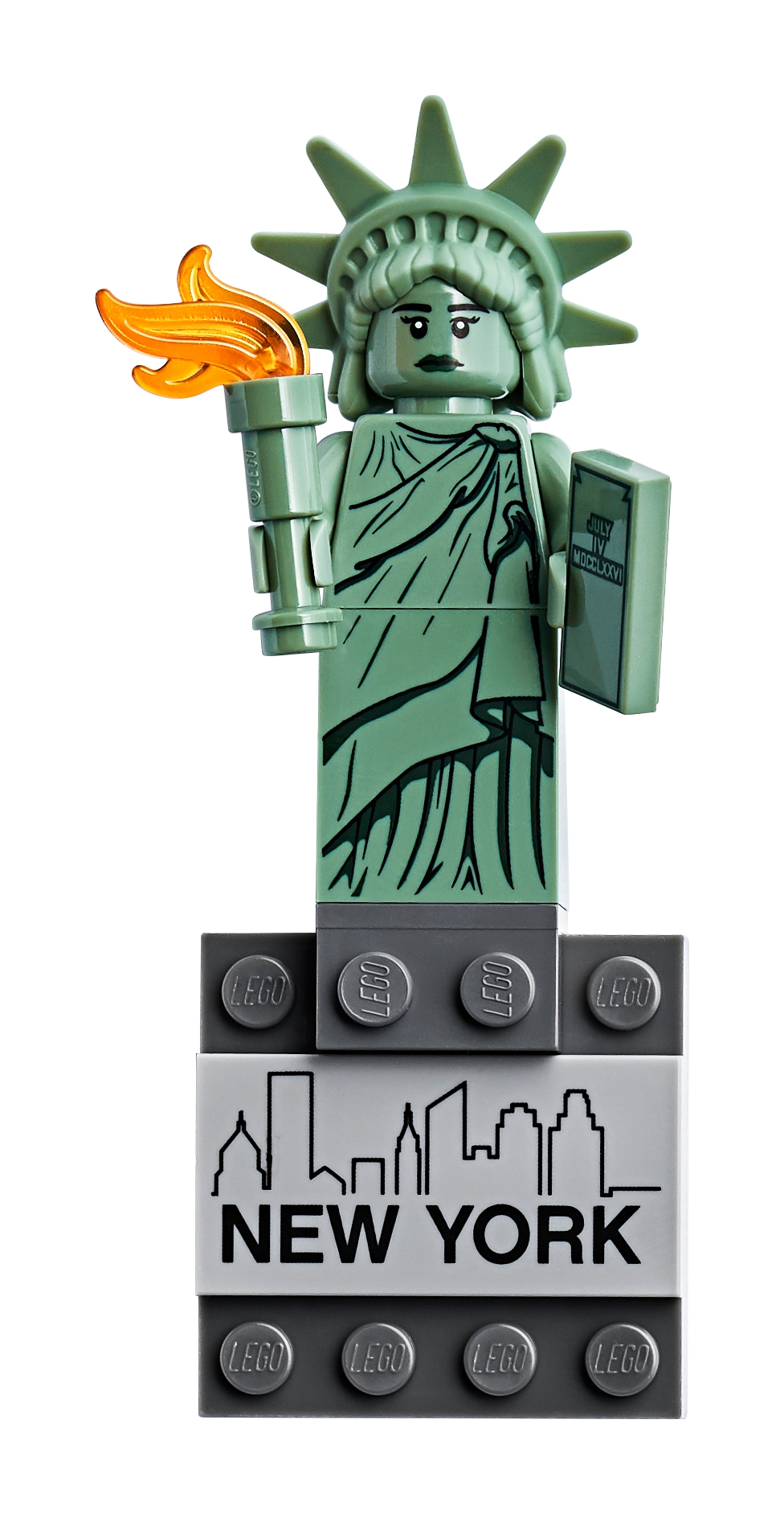New York City Limit Sign Fridge Magnet