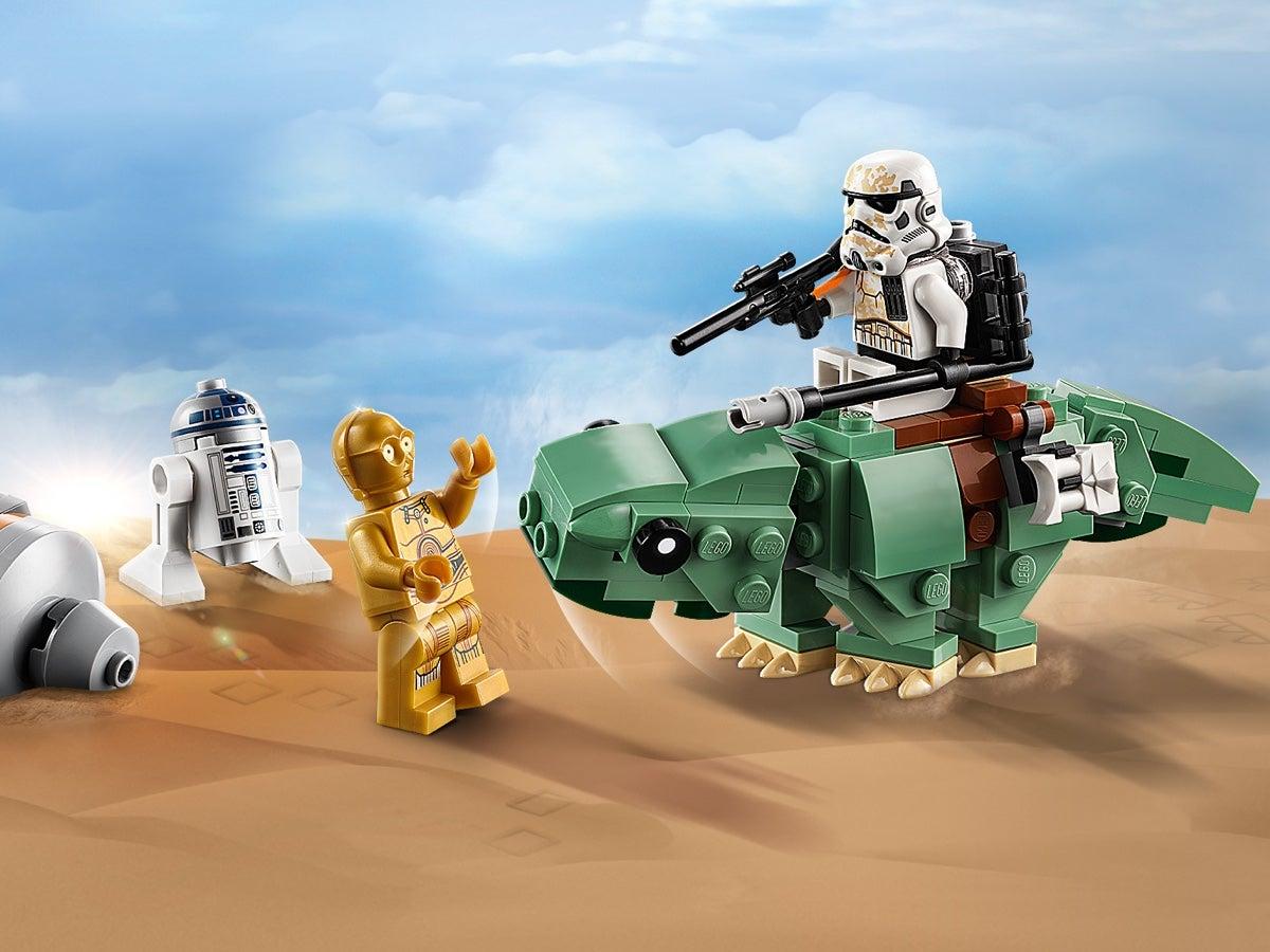 GENUINE LEGO R2-D2 and C-3PO Minifigure Star Wars Mini Figure