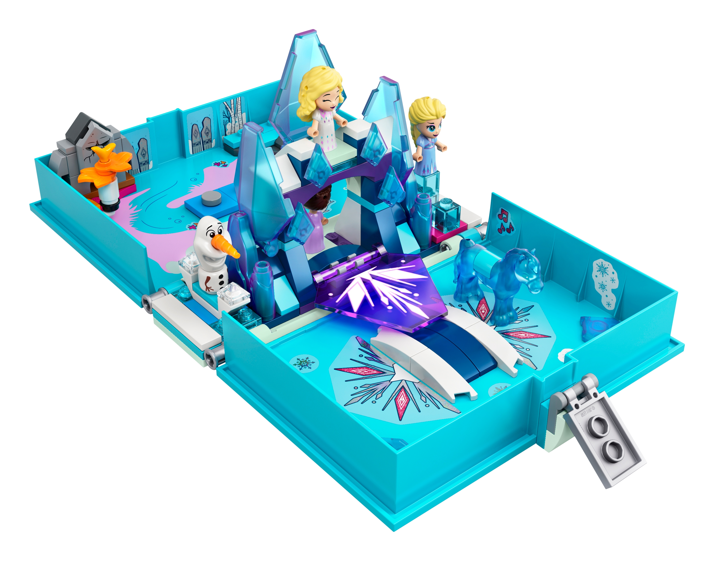 Lego® Schneeflocke x789 Eiskristall transparent blau Snowflake Ice Crystal blue
