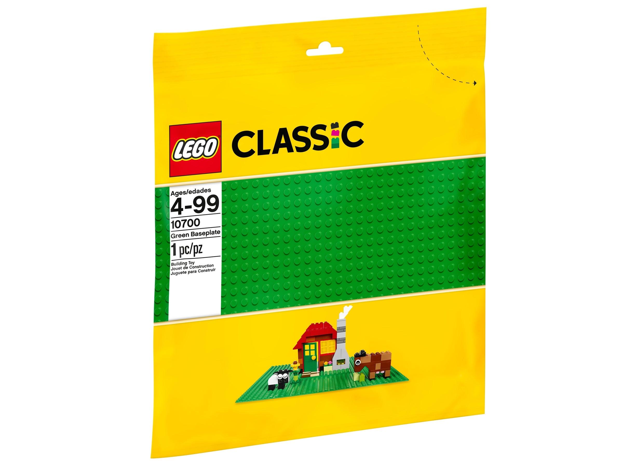 1x Base plaque baseplate 16x16 3867 Green//Vert//Grüne Lego