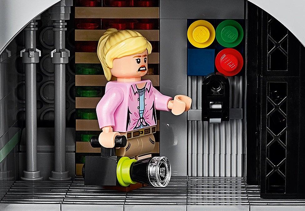 LEGO ® Ellie Bourrelier A JURASSIC PARK 1//World-minifigur de legoteilen-MOC
