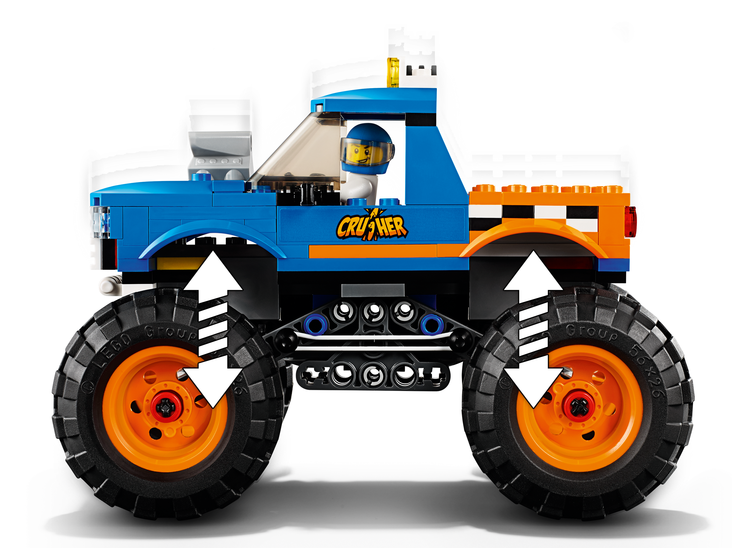 Monster Truck 60180 City Buy Online At The Official Lego Shop Us