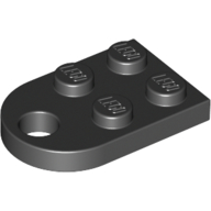 Black Plate Special 3 x 2 with Hole