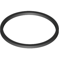 Black Rubber Band Small 13mm (Square Cross Section)