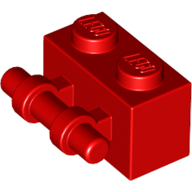 LEGO Red Apple with Red Steam and Leaf 1 Part Piece 33051