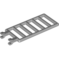 Light Bluish Gray Bar 7 x 3 with Double Clips (Ladder)